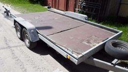 Прицеп - платформа (лафет) к микроавтобусу