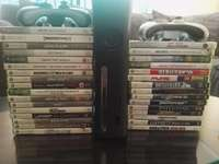 Image of XBOX 360 + 2 controllers + games