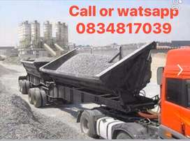 34TON TWIN BIN SIDE TIPPER TRUCKS AND TRAILERS FOR RENT