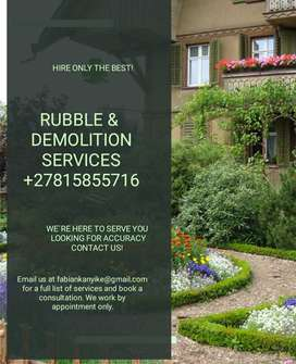 At a time Demolition nd Rubble services