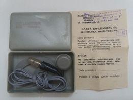 Słuchawka miniaturowa Unitra Tonsil SM-73 PRL 1986r.