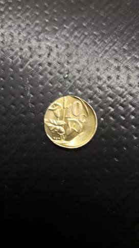 Missprint 1993 10c coin