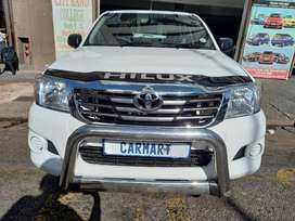 2015 TOYOTA HILUX S/C 2.5 D4D WITH 93000KM