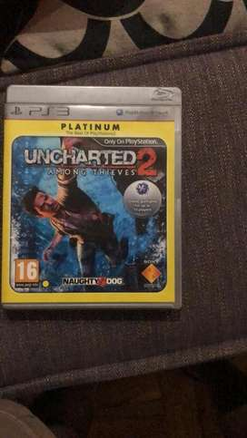 Unchartered 2 for ps3