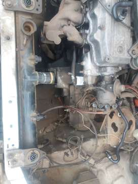 Mazda 323, chain engine and gearbox