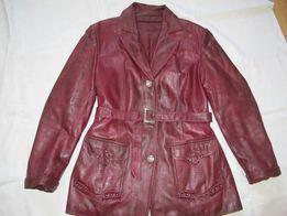 Курточка кожаная жакет куртка плащ пальто женское