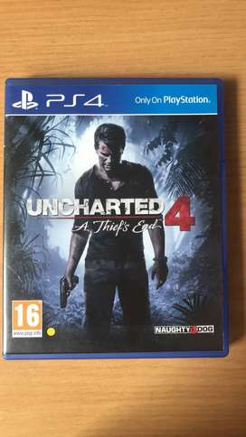 PS4 Game - Uncharted 4: A Thief's End