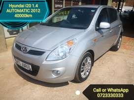 Hyundai i20 1.4 AUTOMATIC Low Kilos