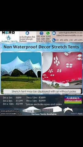 Non Water Proof Decor Stretch Tents