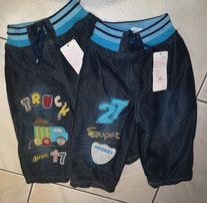 Spodnie dla chłopca rozmiar 74