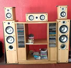 Jamo E350 surround speakersspeakers. BB!! Speakers for sale only.