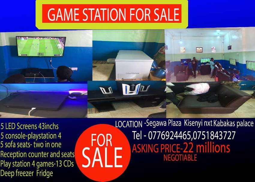 Game station for Sale 0