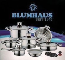 Nowe Garnki BLUMHAUS BH-137 !!! OKAZJA!!!Idealny Prezent!!!
