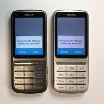 Nokia C3 C3-01 czarna srebrna od ręki 60zł ul. Żelazna 89