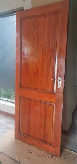 2 doors, were previously used as pantry doors