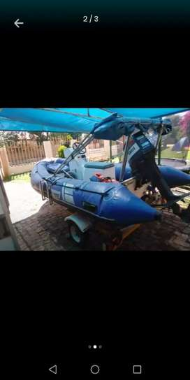 Buccaneer 4.2m with a 40hp Yamaha