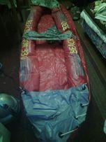 Лодка надувная двухместная б/у из Германии
