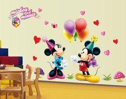 Naklejki na ścianę Myszka Mickey Minnie WS-0083