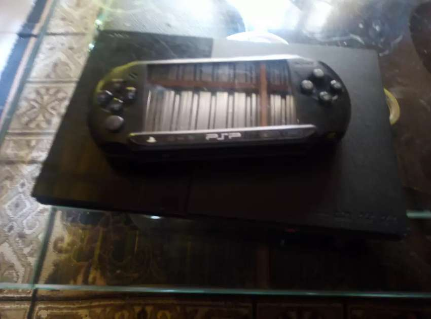PS2 console AND PSP console 0