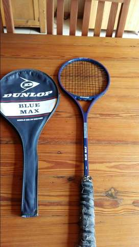 Vintage Dunlop Blue Max Squash Racket (SALE MUST GO ITEM )