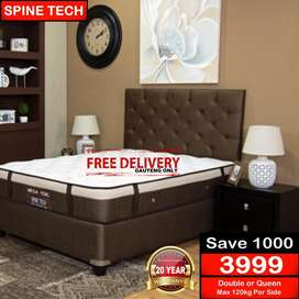Spine Tech Mattress and Base