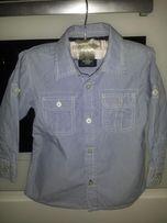 Elegancka niebieska koszula H&M r.86