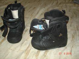 продам ботинки для сноуборда детские размер 22,5.