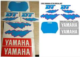 1992 Yamaha DT 50 decals stickers kits