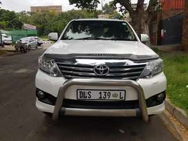 2012 Toyota Fortuner 4.0V6 Automatic