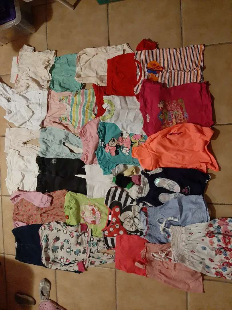 Kids and toddlers clothing all season, different sizes 0