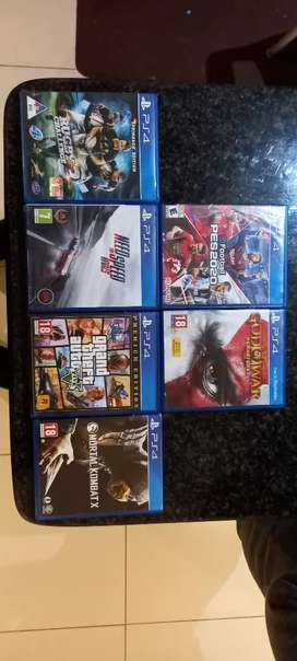 PS4 GAMES FOR SALE AM IN TEMBISA