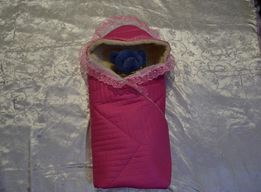 Одеяло (зима), конверт (зимний) на выписку из роддома