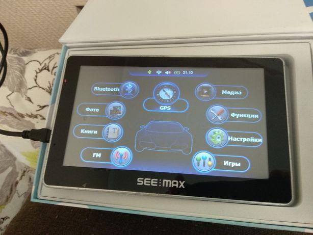 Автомобильный GPS навигатор SeeMax navi E715 HD BT 8 GB Киев - изображение 1