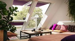 мансардные окна и балконы Velux
