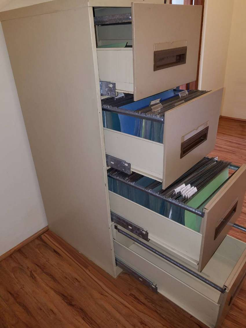 Steel Filing Cabinet - 4 drawer 0