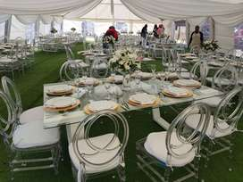 Party and catering decor equipment hire
