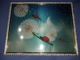 Картины вышитые чешским бисером
