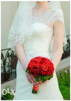Свадебное платье(+ чехол,кольца (подъюбник),туфли) Продам СРОЧНО!