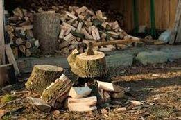 Якісні рубані дрова в асортименті