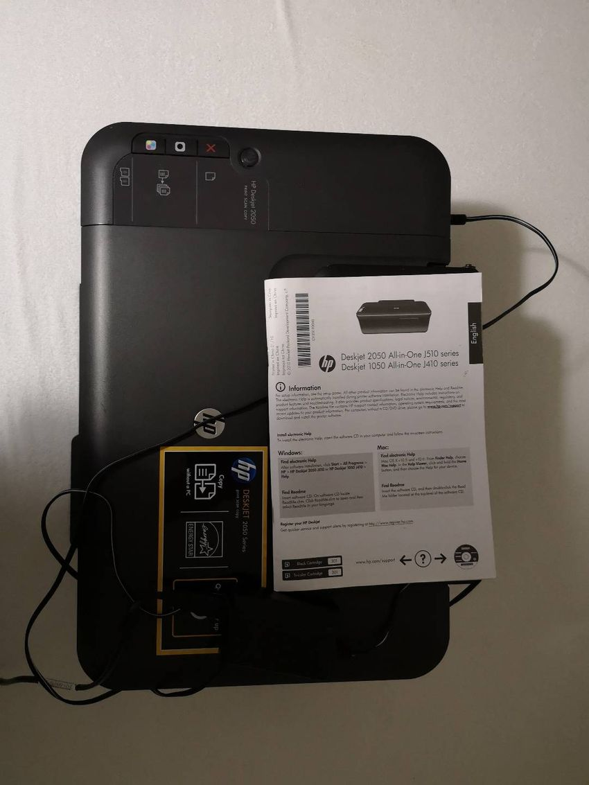 Deskjet 2050 All-in-one j510 series 0