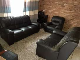 Grafton Everest Genuine Leather Uppers Lounge suite