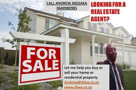 We buy & sell real-estate property