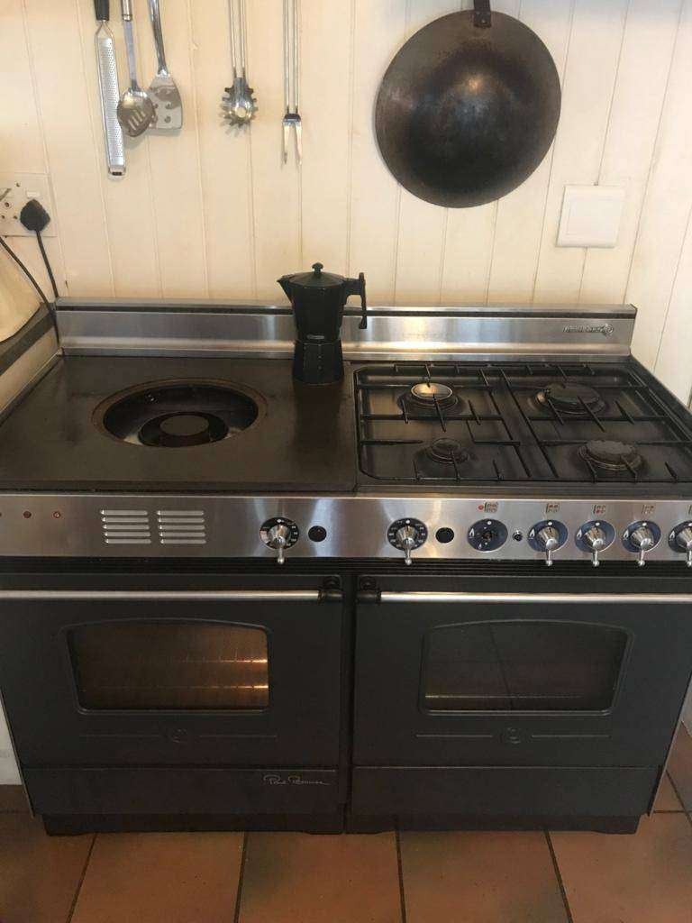 Rosiere Paul Bocuse 117cm gas range and 2x electric ovens