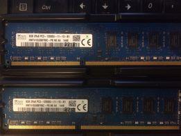 DDR3 8GB SDRAM Samsung, Kingston, hynix