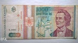 Купюры 1000 Румынских лей