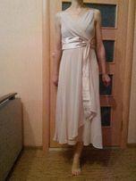 Нежное нарядное платье на выпускной свадьбу 44-46 размер или 38