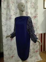 Sukienka nowa modrakowa