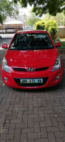 2011 I20 Hyundai with only 87 000 kms