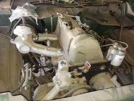 240D mercedes engine and box