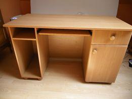 solidne biurko 120 na 60 cm